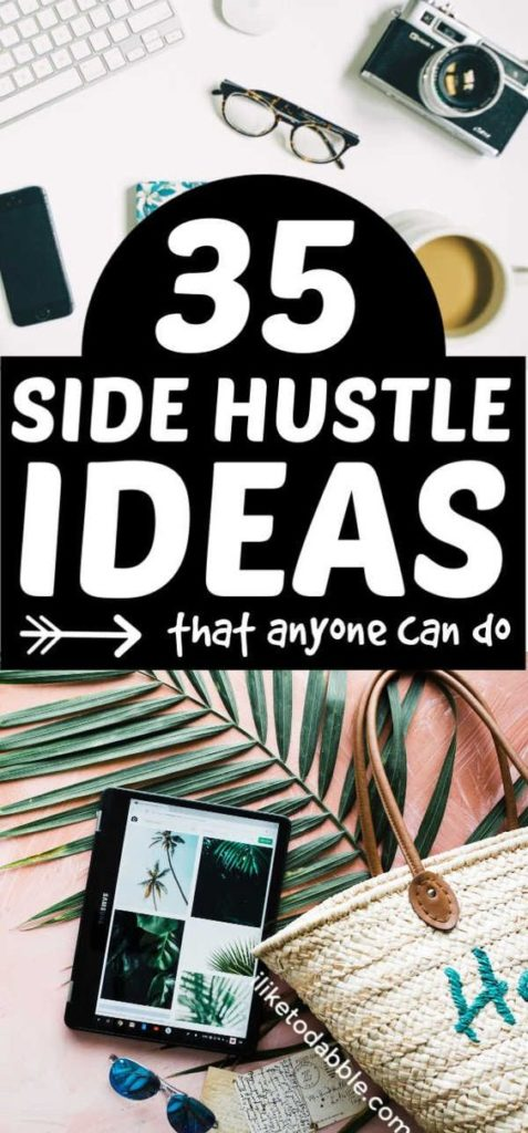 35 Best Side Hustle Ideas To Start in 2019