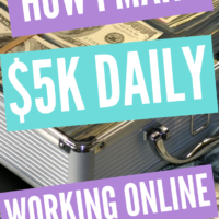 How I Make $5K Daily Online