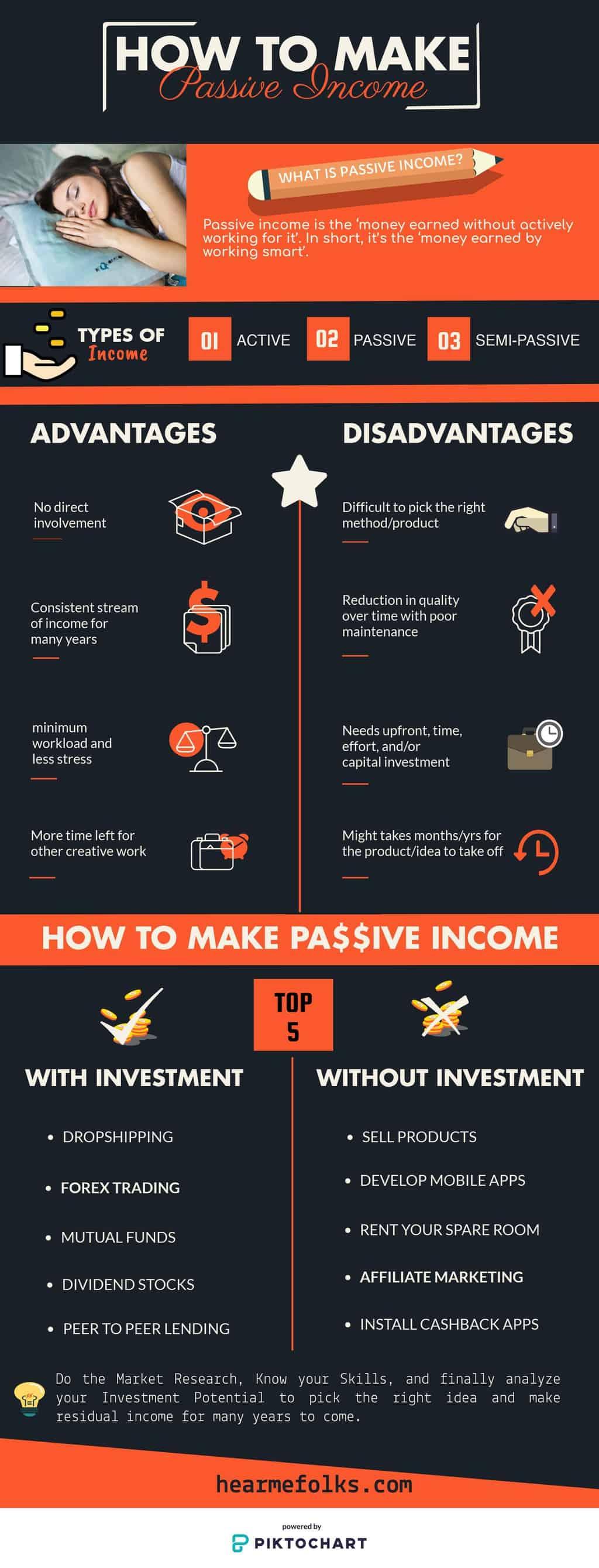 passive income ideas to make money while you sleep