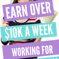 How To Earn Over $10K A Week Working Online For 30 Mins a Day?