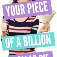 Your Piece Of A BILLION Dollar Pie